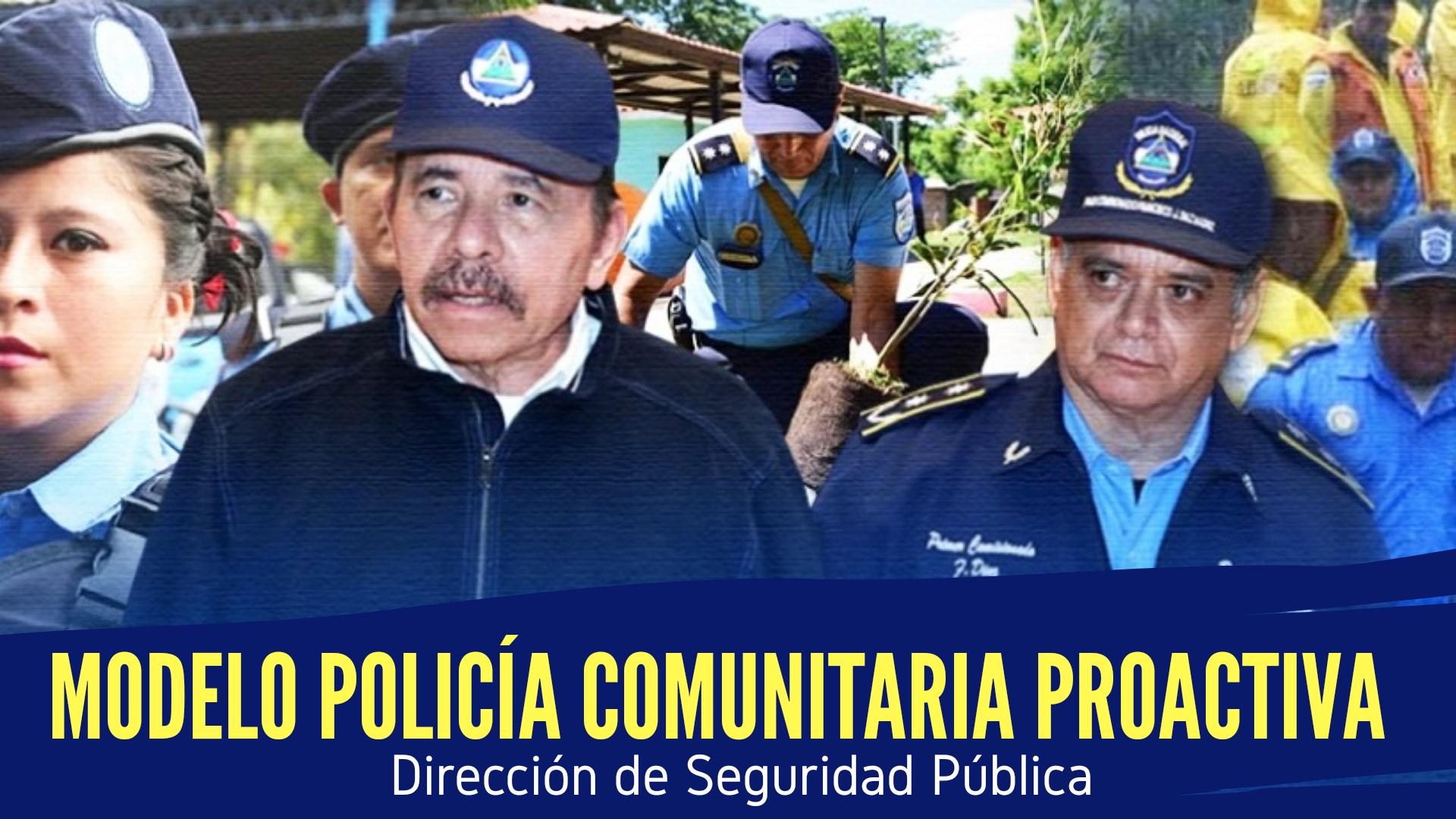 MODELO POLICÍA COMUNITARIA PROACTIVA.